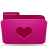 valentine, folder, favorite, pink, love, heart icon