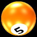Ball 5 icon