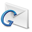 gmail, google, blue icon