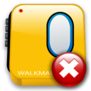 walkman,close,no icon
