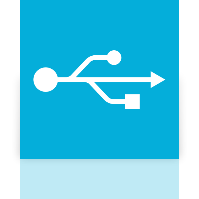 usb, alt, mirror icon