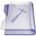 purple,developer,book icon
