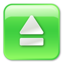eject,pressed icon
