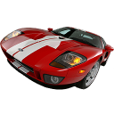 transport, racing car, transportation, gt, ford, car, sports car, automobile, vehicle icon