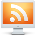 rss,feed,monitor icon
