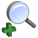 enlarge, in, magnifier, magnifying class, zoom, zoom in icon