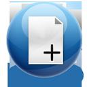 files, add icon