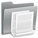 document, file, paper, folder icon