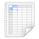 mimetypes x office spreadsheet icon