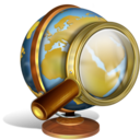 recherche,internet,earth icon