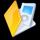 folder,ipod,yellow icon