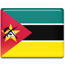 mozambique, flag icon