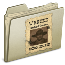 lightbrown,wanted icon