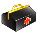 medical, bag icon