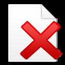 document,delete icon