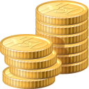 coin, cash, money, check out, currency, business, payment, pay, credit card icon
