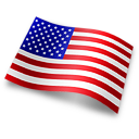 Flag USA icon