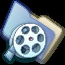 video, folder icon