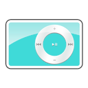 2g, Ipod, Shuffle, Teal icon