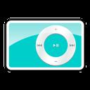 2g, teal, shuffle, ipod icon