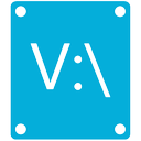 v icon