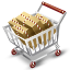 full, cart icon