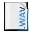 audio, wav, file icon