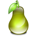 pear, fruit icon