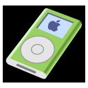 ipod,mini,green icon
