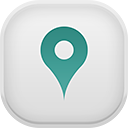 map, gps icon
