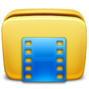 folder,movie icon