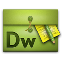 Dreamweaver, Folio icon