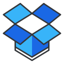 storage, internet, online, dropbox, social, network, media icon