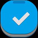 Anydo, Flat, Round icon