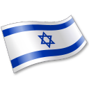 Flag, Il, Isr, Israel icon