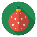 holiday, winter, stars, christmas, tree, bulb, xmas icon