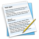 editor, text, file, document icon