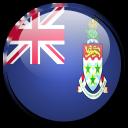 cayman, country, island, flag icon