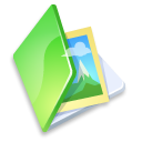folder, image, picture, photo, pic, green icon