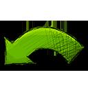 undo, arrow icon