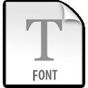 z, file, font icon