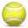 tennis, ball icon