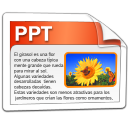 ppt, powerpoint, oficina icon