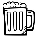 celebration, drink, beer, party, beverage, alcohol icon