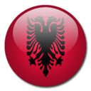 albania,flag,country icon