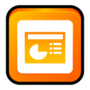 MS Office 2003 PowerPoint icon