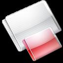 Folder Folders strawberry icon