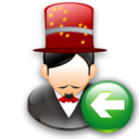 Back, Magician icon