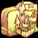 Castle, Folder icon