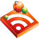 christmas,rss,subscribe icon